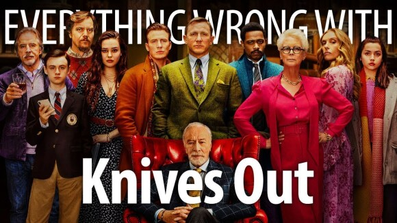 CinemaSins - Everything wrong with knives out in whodunnit minutes