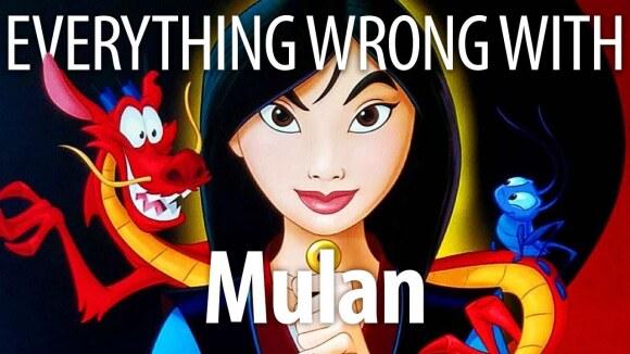 CinemaSins - Everything wrong with mulan in mushu minutes