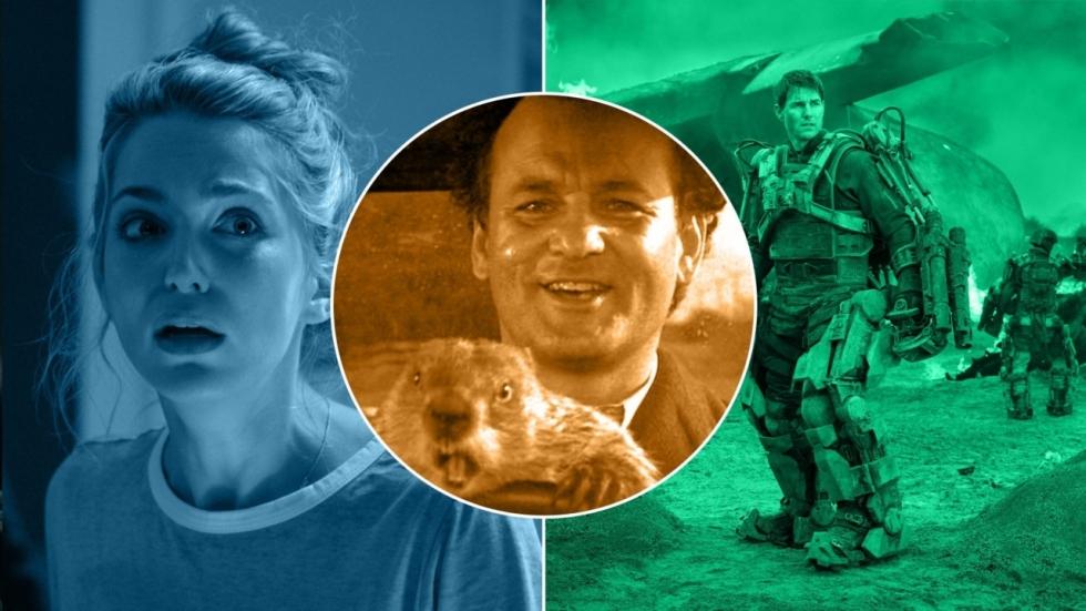 4 films als 'Groundhog Day': iedere dag hetzelfde!