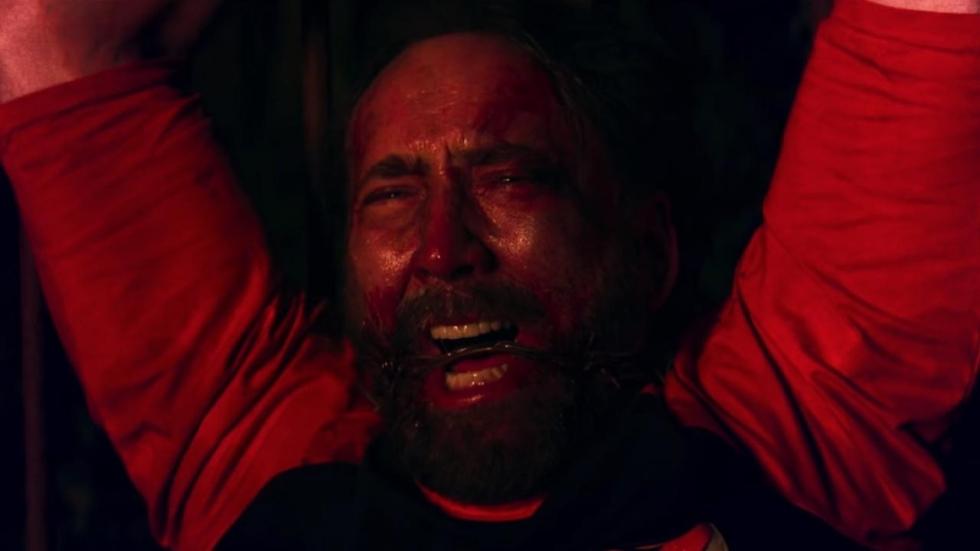 Eerste setfoto's van horrorfilm 'Wally's Wonderland' met Nicolas Cage