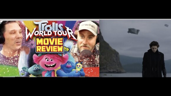 Schmoes Knows - Trolls: world tour movie review + first dune images- sen live 107