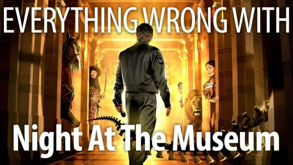 CinemaSins - Everything wrong with night at the museum in 17 minutes or less