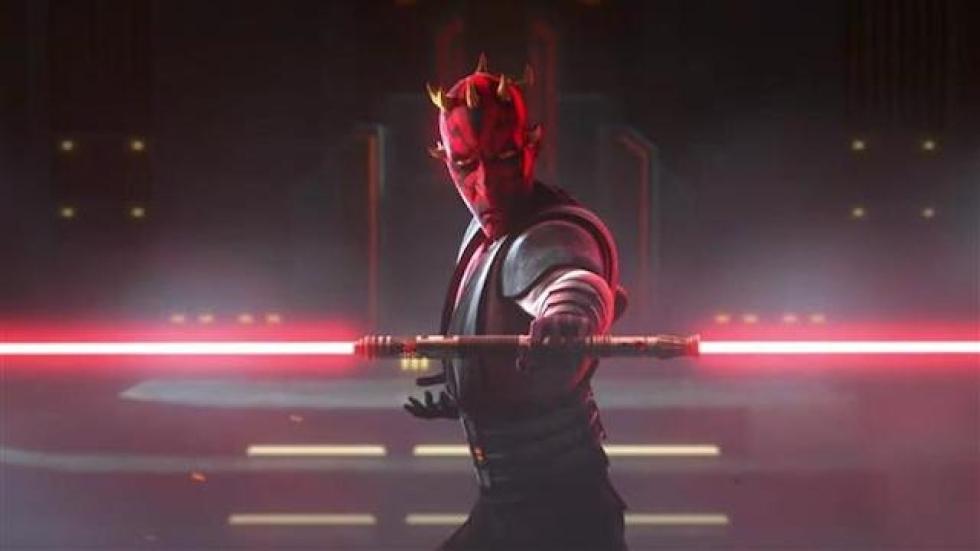 Huh? Darth Maul was de eerste echte [...] in 'Star Wars'