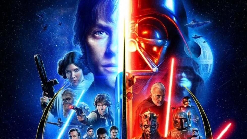 Gave poster 'Star Wars' voor de complete 'Skywalker Saga'