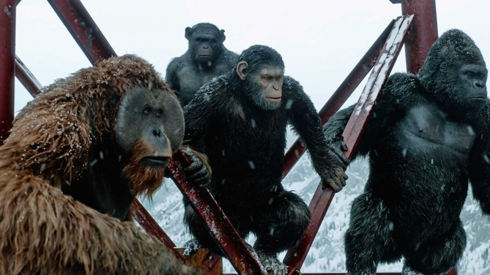 Dit was James Camerons visie op 'Planet of the Apes'