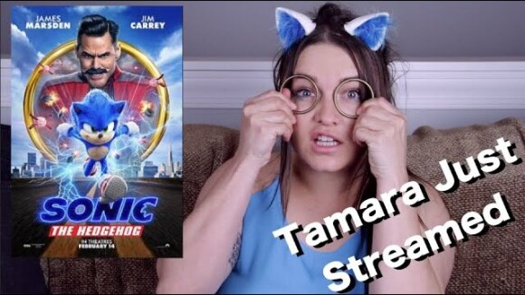 Channel Awesome - Sonic the hedgehog - tamara just streamed