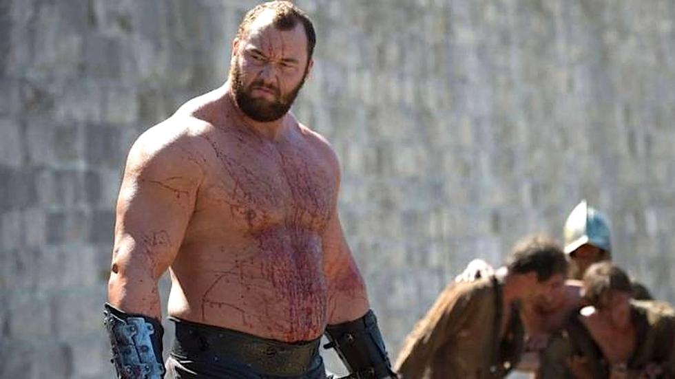 The Mountain uit 'Game of Thrones' vestigt bruut deadlift wereldrecord!