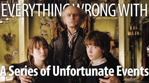 CinemaSins - Everything wrong with lemony snicket's a series of unfortunate events