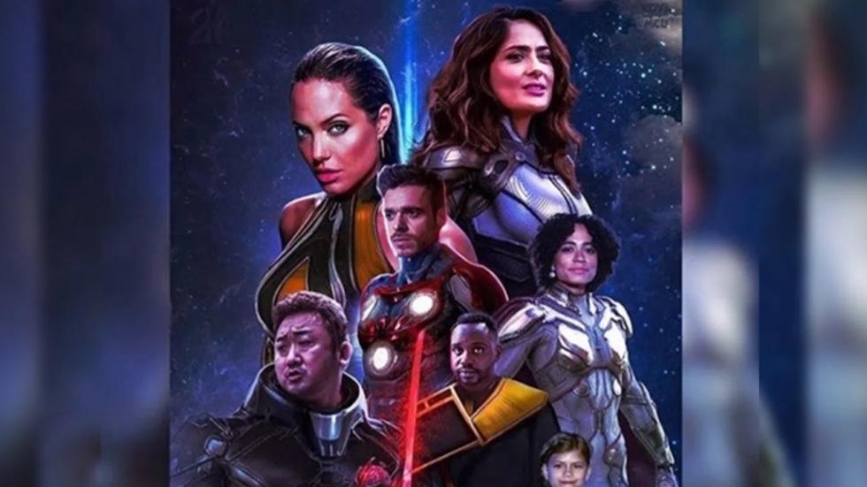 Krachtige en grote namen in Marvel-film 'Eternals'
