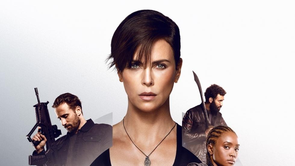 Poster Netflix-blockbuster 'The Old Guard' met onsterfelijke Charlize Theron