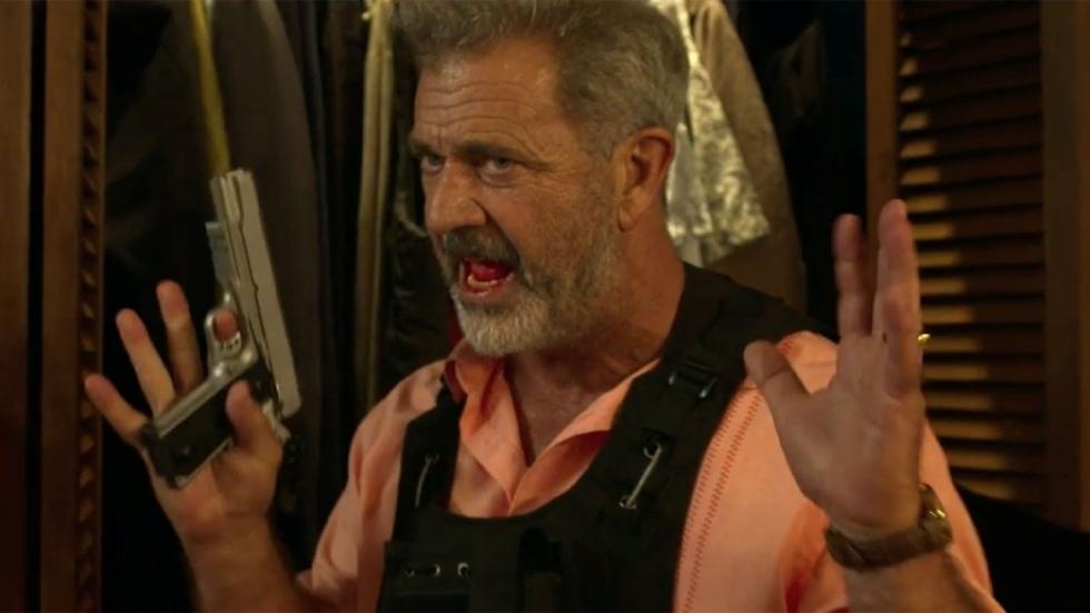 Mel Gibson weigert plaats te maken in trailer 'Force of Nature'