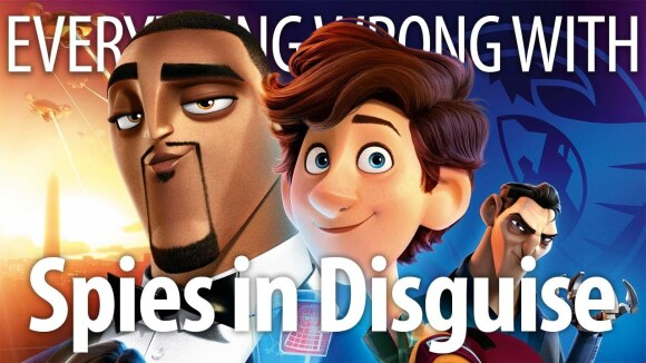 CinemaSins - Everything wrong with spies in disguise in 17 minutes or less