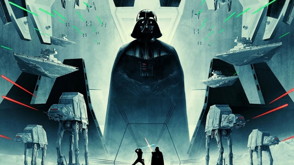 Gave officiële 'Star Wars'-poster voor Darth Vader