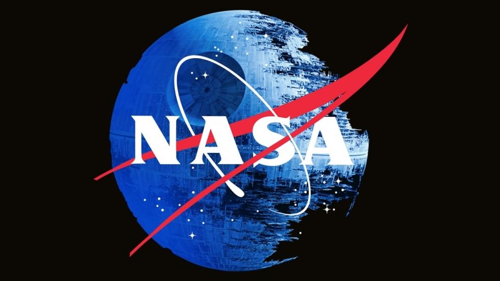 NASA eert 'Star Wars' vanuit de ruimte!