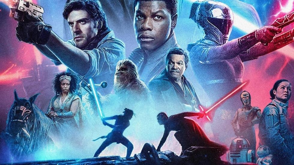 Strijdbaar beeld uit 'Star Wars: Episode IX - Duel of the Fates'
