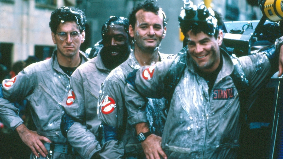 Who you gonna call? Ghostbusters! Weer even bij elkaar voor reünie