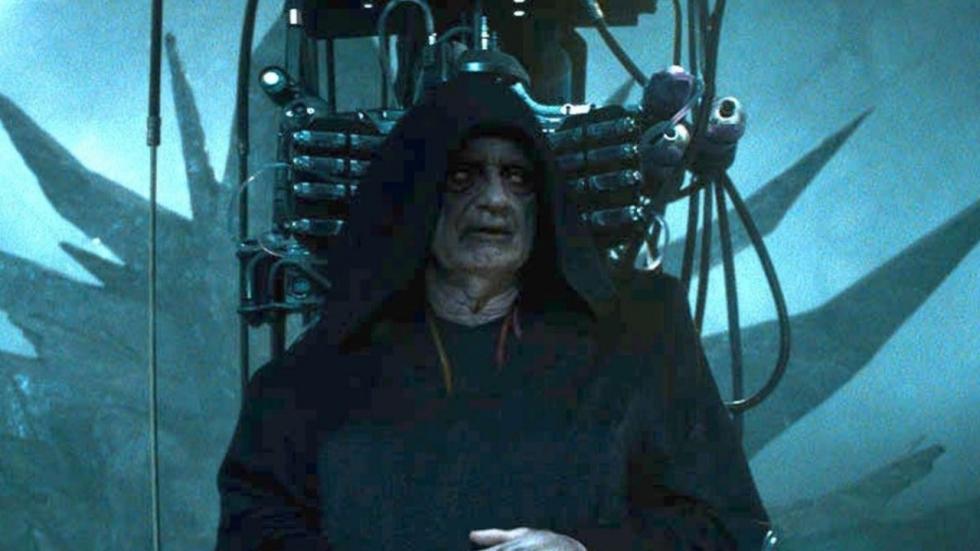 Vroege schets laat Palpatine in 'Star Wars: The Rise of Skywalker' zien