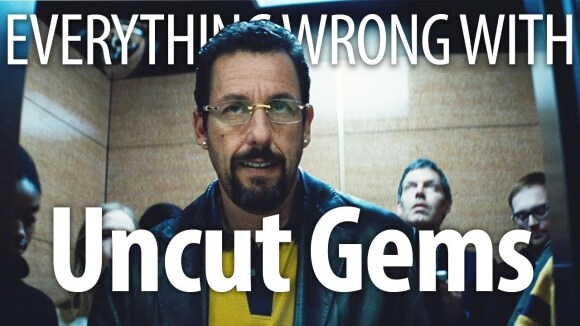 CinemaSins - Everything wrong with uncut gems in very anxious minutes