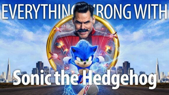 CinemaSins - Everything wrong with sonic the hedgehog in sega minutes or less