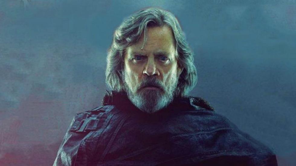 Gave fanposter stelt zich Dark Side Luke Skywalker voor