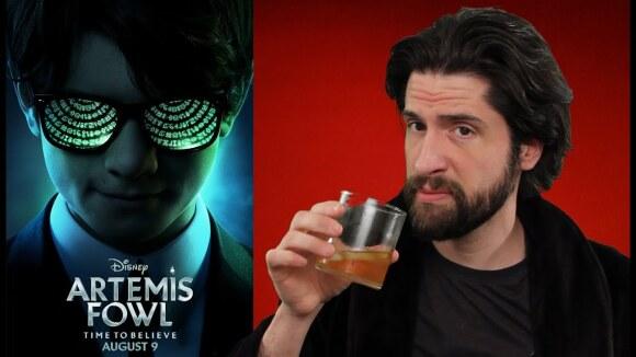 Jeremy Jahns - Artemis fowl - movie review