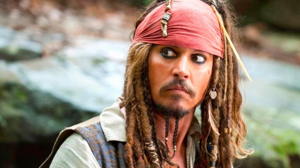 Johnny Depp voor eventjes terug als Jack Sparrow!