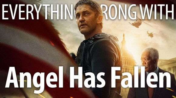 CinemaSins - Everything wrong with angel has fallen in absurdity minutes