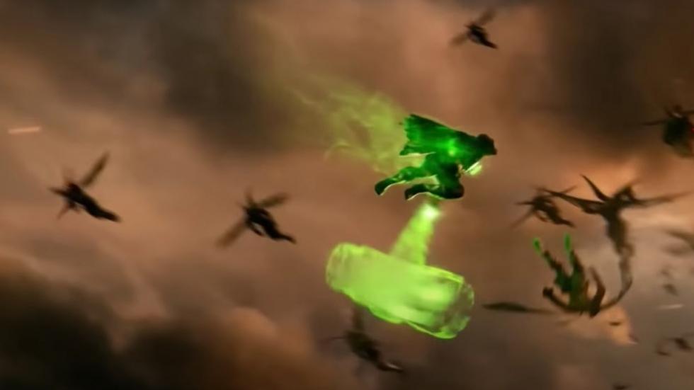 Green Lantern te zien in 'Zack Snyders Justice League'