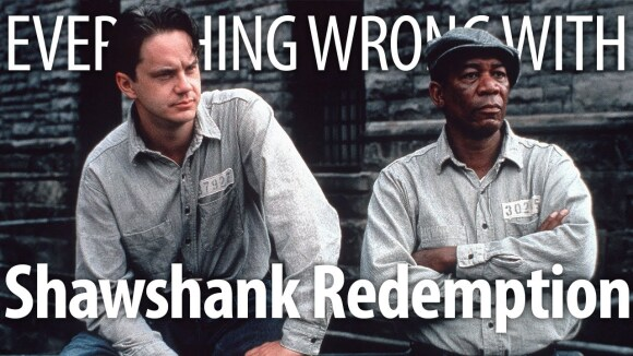 CinemaSins - Everything wrong with the shawshank redemption in 20 minutes or less