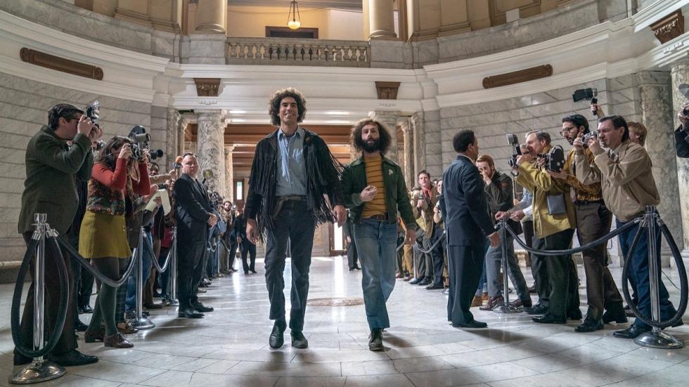 Eerste foto's en datum voor grote Netflix-film 'The Trial of the Chicago 7'!