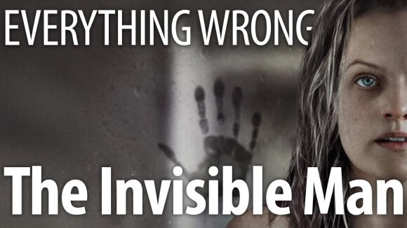 CinemaSins - Everything wrong with the invisible man in 14 minutes or less