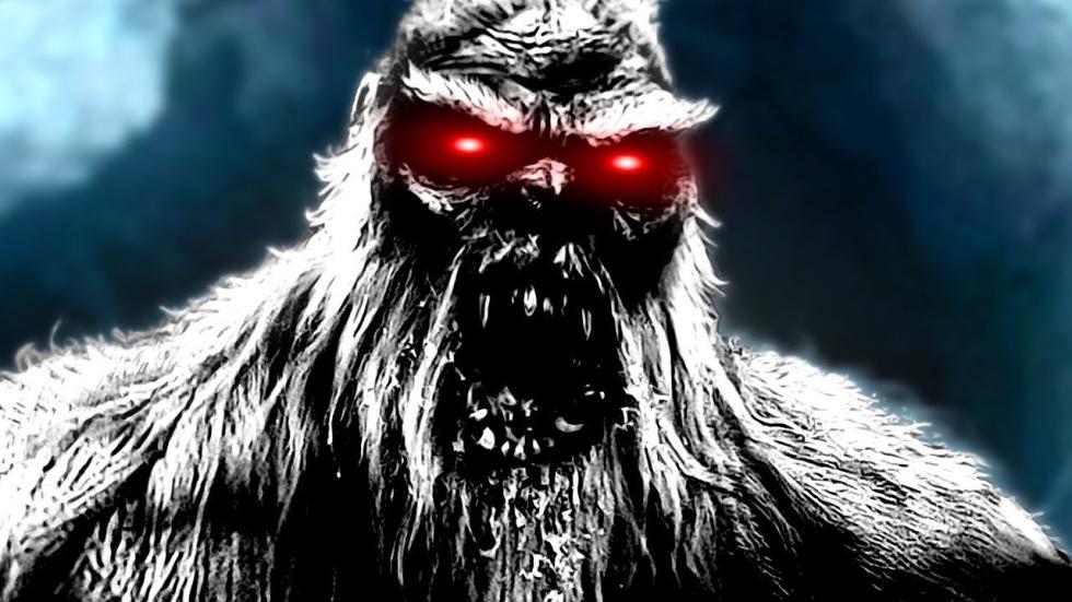 Aantrekkelijke zus van Alexandra Daddario opgejaagd door Bigfoot in trailer 'Monstrous'