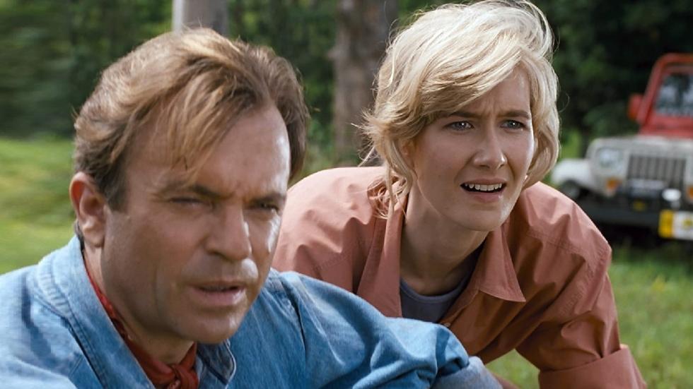 """Alan Grant en Ellie Sattler zijn weer """"samen"""" op foto 'Jurassic World 3'"""