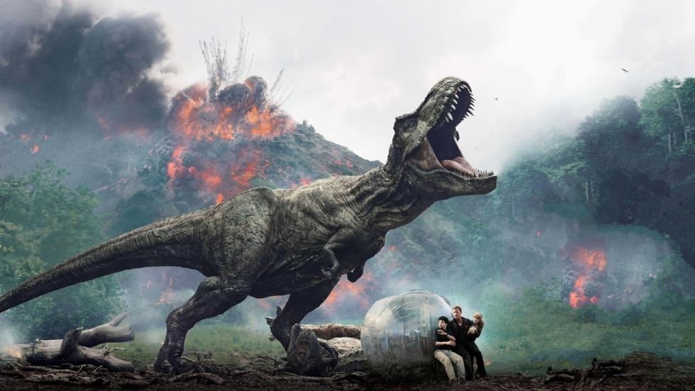 'Jurassic World: Dominion' toont weer dinosaurussen op een setfoto