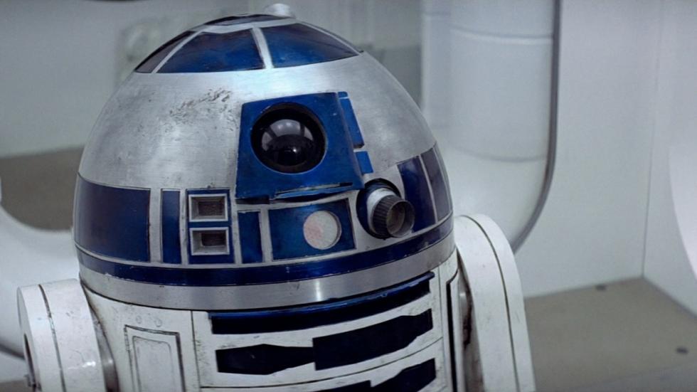 Hartverscheurende easter egg rond 'Star Wars'-robot R2-D2