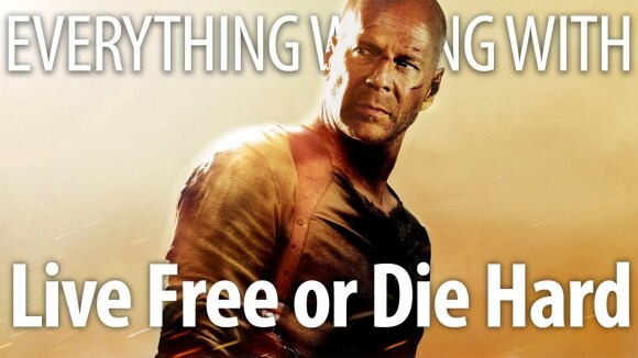 CinemaSins - Everything wrong with live free or die hard in pg-13 minutes