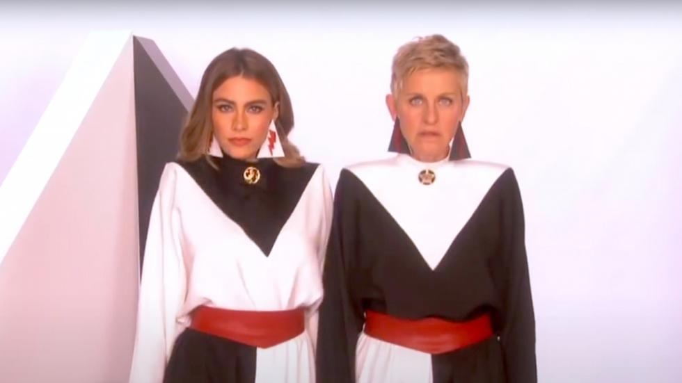 Ophef: Sofia Vergara verdedigt Ellen DeGeneres die altijd haar accent belachelijk maakt