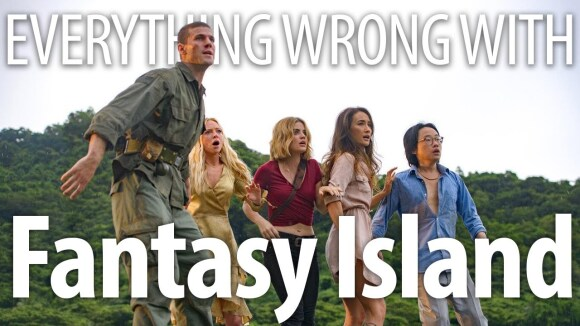 CinemaSins - Everything wrong with fantasy island in 20 minutes or less