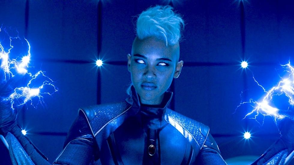 Marvel-heldin Storm had geen krachten meer in eerdere versie 'The New Mutants'
