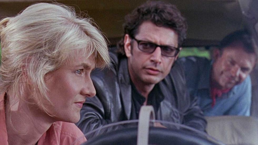 Jeff Goldblum & Sam Neill eren 'Jurassic Park' met duet