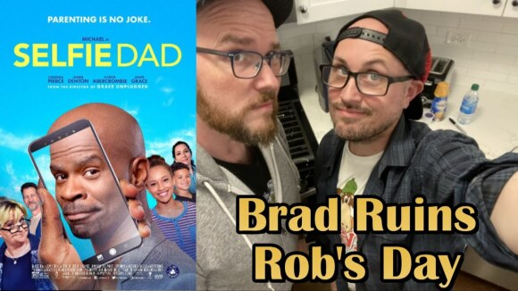 Channel Awesome - Selfie dad - brad ruins rob's day