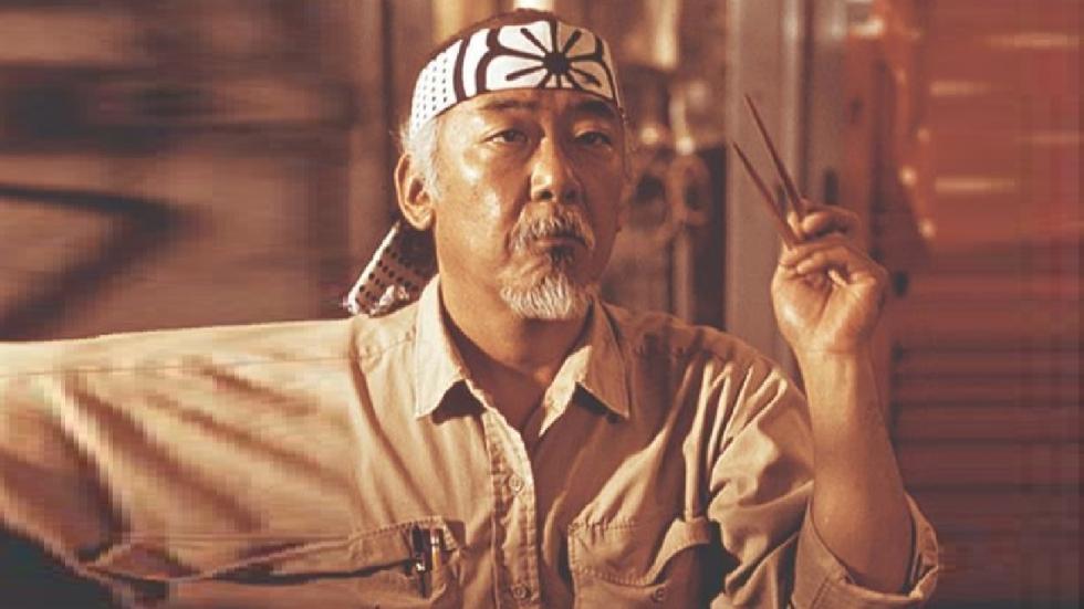 Pat Morita (Mr. Miyagi) had een bijzonder idee voor 'The Karate Kid 5'