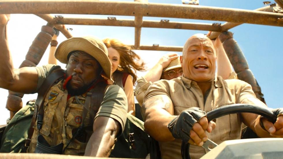 Nu op Netflix: De prima avonturenfilm 'Jumanji: The Next Level' met The Rock
