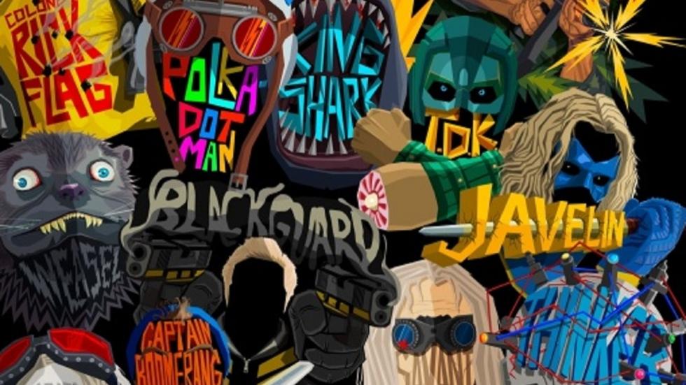 Geinige 'Suicide Squad'-achtige posters voor andere DC-personages