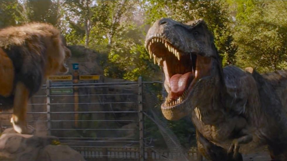 'Jurassic World: Dominion'-ster over de film