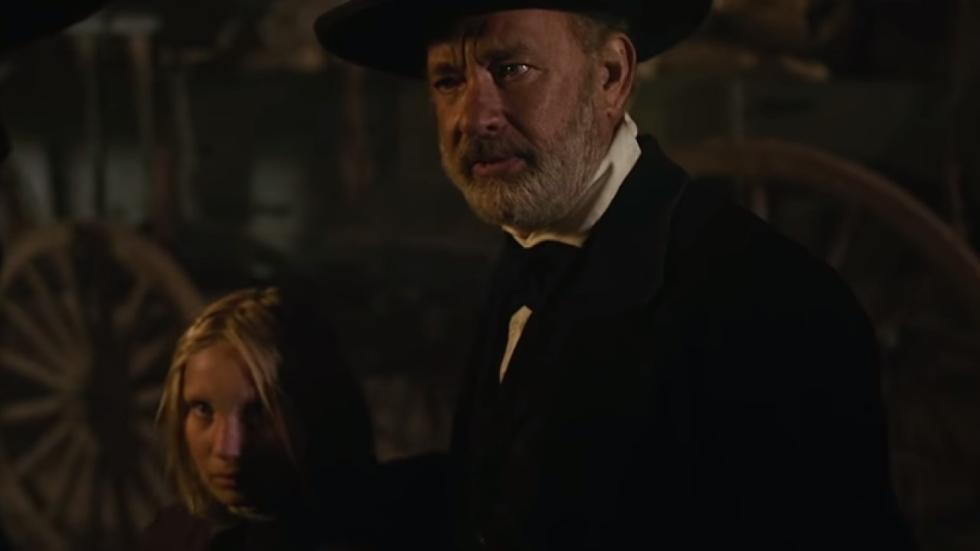 Eerste beelden Tom Hanks in 'News of the World' van 'Captain Phillips'-regisseur