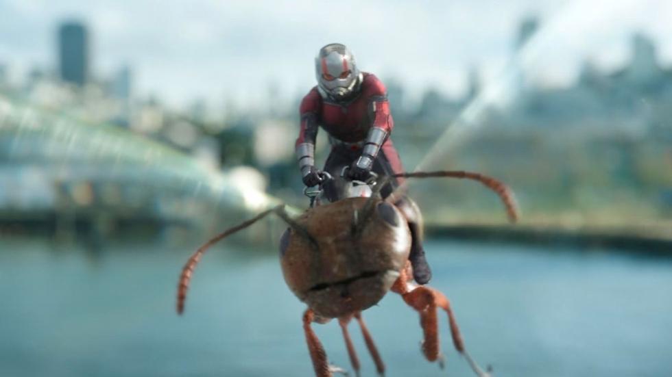 Verstoorde Marvel-held Ant-Man gisterenavond het debat tussen Mike Pence en Kamala Harris?