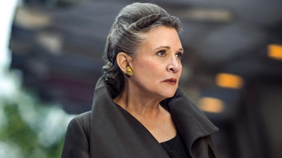 Rian Johnson eert Carrie Fisher met nieuwe foto 'Star Wars: The Last Jedi'