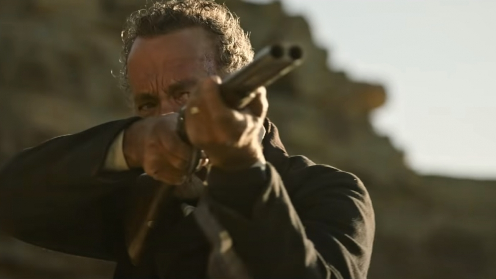 Tom Hanks met geweren in trailer 'News of the World'