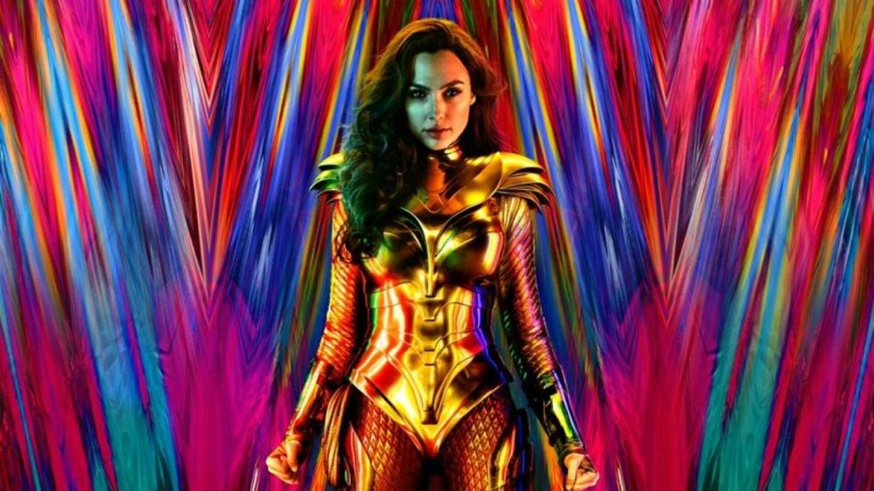 Spetterende nieuwe poster 'Wonder Woman 1984'
